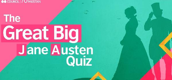 The Great Big Jane Austen Quiz | Lahore