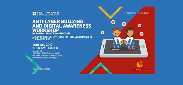 Anti-Cyber Bullying and Digital Awareness Workshop | Lahore