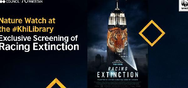 Nature Watch: Screening of 'Racing Extinction'   Karachi