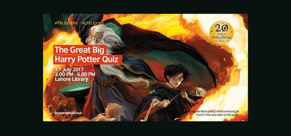 The Great Big Harry Potter Quiz | Lahore