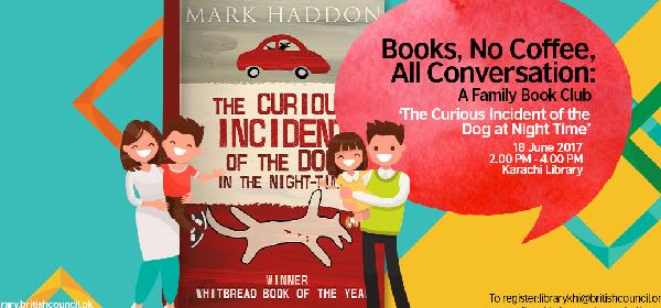 Family Book Club: The Curious Incident of the Dog in the Night-Time | Karachi