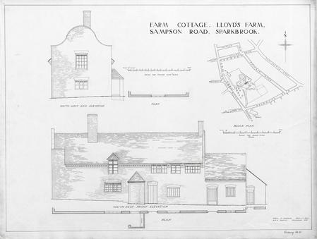 Farm Cottage, Lloyd's Farm, Sampson Road, Sparkbrook