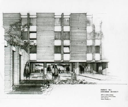Graduate Hall, Birmingham University
