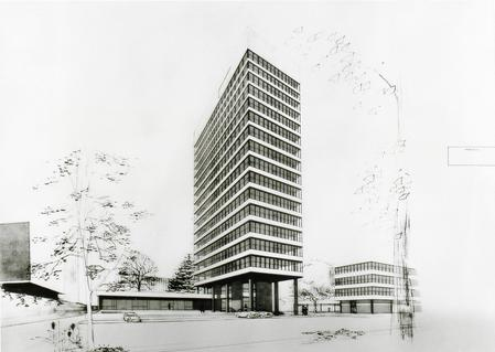 Lyndon House, Office Block, Calthorpe Estate